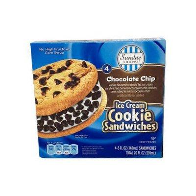 Sundae Shoppe Ice Cream Cookie Sandwich