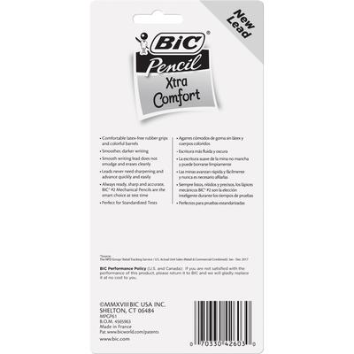 BiC Mechanical Pencils, No. 2 (0.7mm), Xtra Comfort
