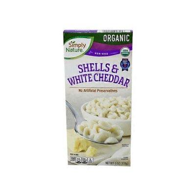 Simply Nature Organic Shells & White Cheddar