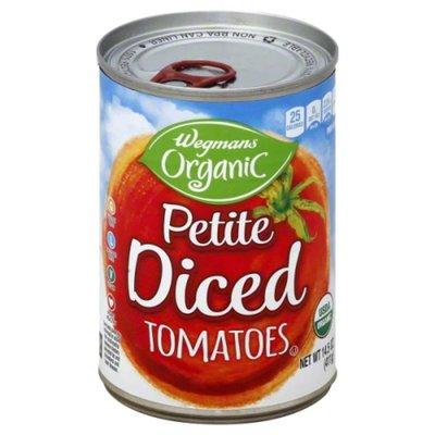 Wegmans Organic Petite Diced Tomatoes