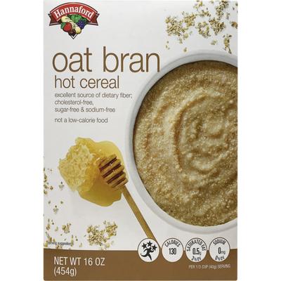Hannaford Oat Bran Hot Cereal