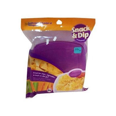 jacent Snack & Dip container