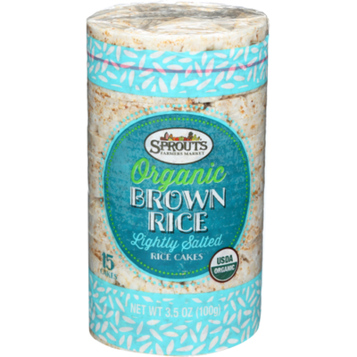 Sprouts Organic Lightly Salted Rice Cakes