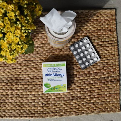 Boiron Rhinallergy Homeopathic Medicine for Allergy Relief