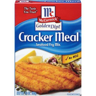 McCormick® Golden Dipt® Cracker Meal Seafood Fry Mix