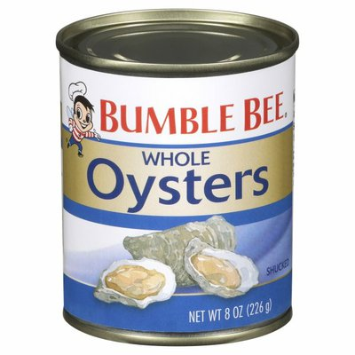 Bumble Bee Whole Oysters