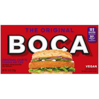Boca Original Vegan Chik'n Veggie Patties