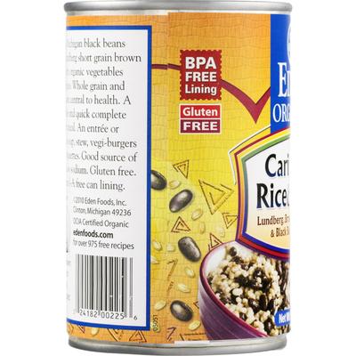 Eden Foods Rice & Beans, Caribbean