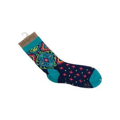 Karma Spanish Blue Socks