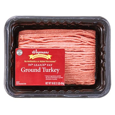 Wegmans Food You Feel Good About Fresh Ground Turkey