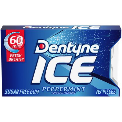 Dentyne Ice Pepermint Sugar Free Gum