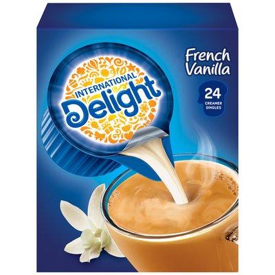 International Delight French Vanilla Coffee Creamer Singles