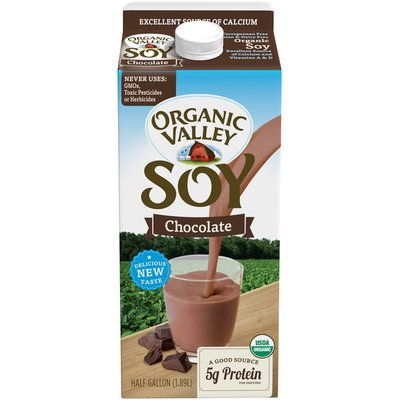 Organic Valley 64 oz UHT Chocolate Soy Beverage