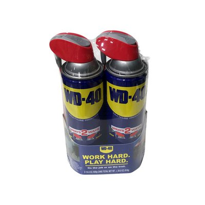 WD-40 Multi-Use Lubricant Spray With Smart Straw