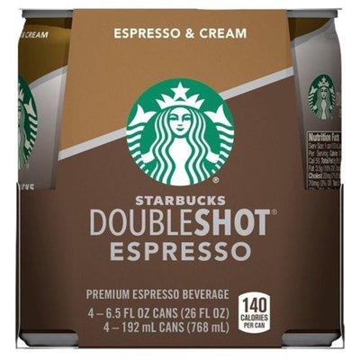 Starbucks Espresso And Cream Coffee Drink