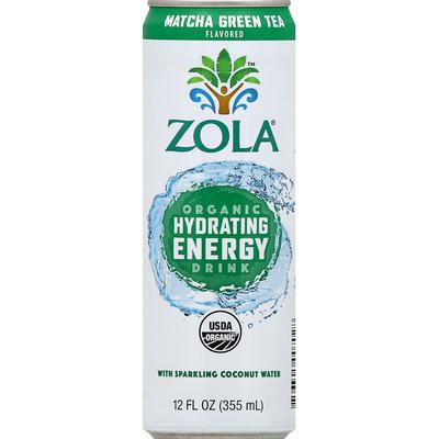 Zola Organic Hydrating Energy, Matcha Green Tea