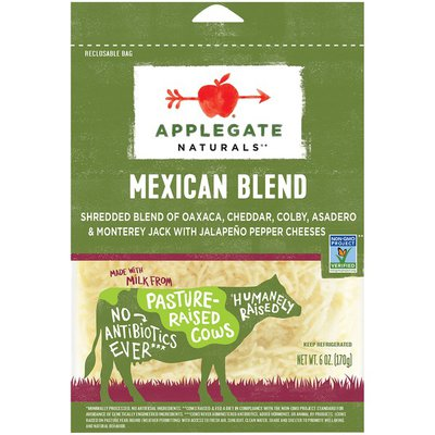 Applegate Natural Mexican Blend Cheese