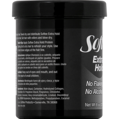 Softee Styling Gel, Protein, Extra Hold