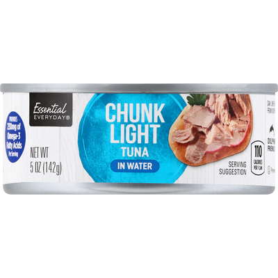 Essential Everyday Tuna, in Water, Chunk Light