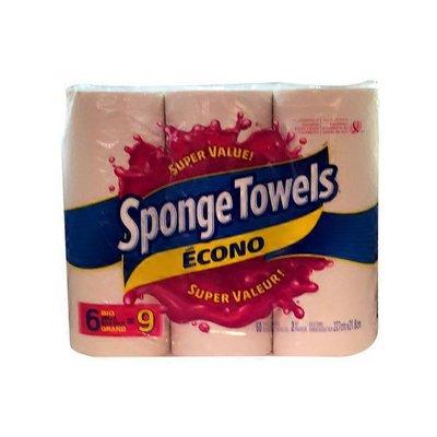 Sponge Towels Large Econo Paper Towel Rolls
