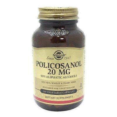 Solgar Policosanol 20mg Vegetarian Capsules