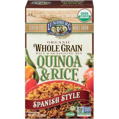 Lundberg Family Farms Organic Whole Grain Spanish Style Quinoa & Rice