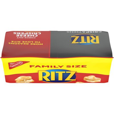 Ritz Crisp & Thins Cream Cheese & Onion Chips