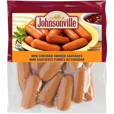 Johnsonville Mini Cheddar Smoked Sausages