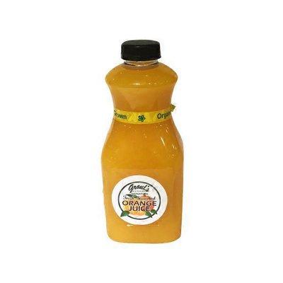 Graul's Organic Fresh-Squeezed Orange Juice