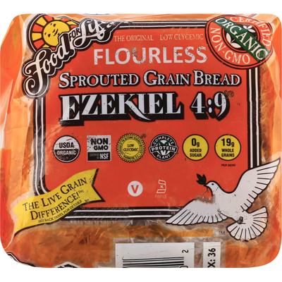 Food for Life Ezekiel 4:9 Bread Organic Sprouted Whole Grain