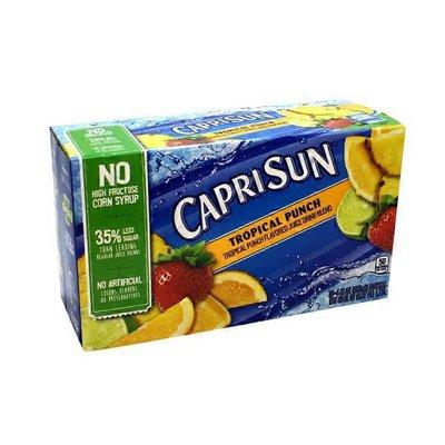 Capri Sun Tropical Punch Flavored Juice Drink Blend