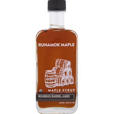 Runamok Bourbon Barrel-Aged, Organic Vermont Maple Syrup
