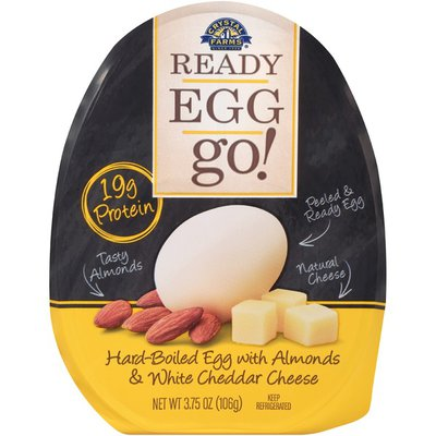 Ready Egg Go! with Almonds & White Cheddar Cheese Hard-Boiled Egg