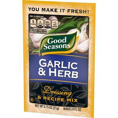 Good Seasons Garlic & Herb Dressing & Recipe Seasoning Mix