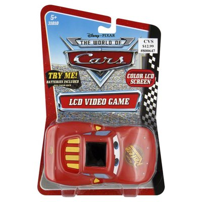 Techno Source Video Game, LCD, Disney/Pixar The World of Cars