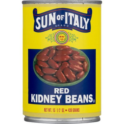 Sun Of Italy Kidney Beans, Red, Can
