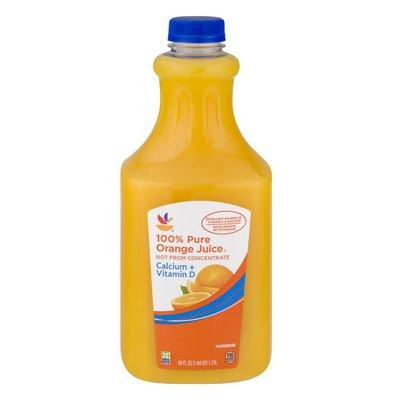 SB 100% Pure Orange Juice Calcium + Vitamin D
