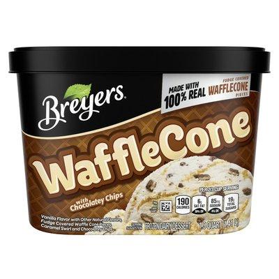 Breyers Frozen Dairy Dessert Waffle Cone