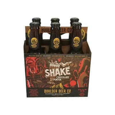 Boulder Beer Co. Shake Chocolate Porter Bottles