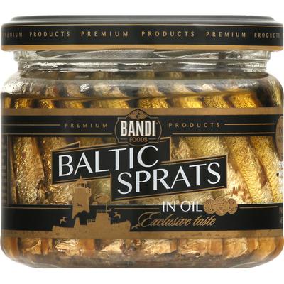 Bandi Foods Baltic Sprats in Oil