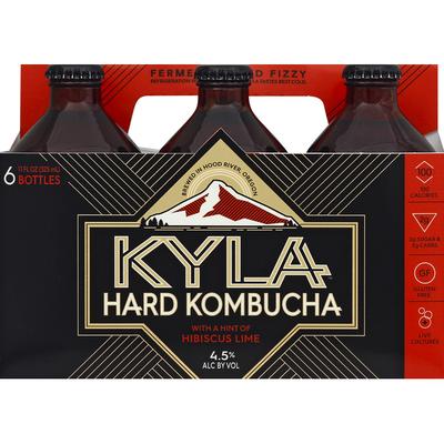 Kyla Hibiscus Lime Hard Kombucha