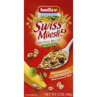 Mi Familia Muesli, Swiss, Original Recipe