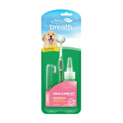 TropiClean Fresh Breath Oral Care Puppy Kit