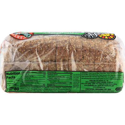 Food for Life Bread, Sesame