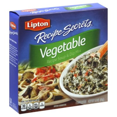 Lipton Soup And Dip Mix Vegetable