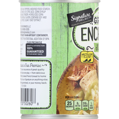 Signature Select Sauce, Medium, Green Enchilada
