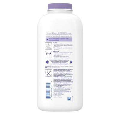 Johnson & Johnson Lavender Powder