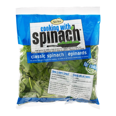 Cooking with Spinach Classic Spinach