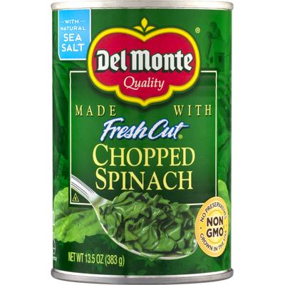Del Monte Spinach, Chopped