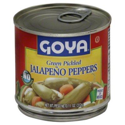 Goya Green Pickled Jalapeño Peppers